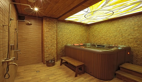 Семейная баня в москве